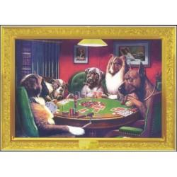 Hunde spiller poker,  MAXI...