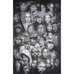 De største rappere og hip...
