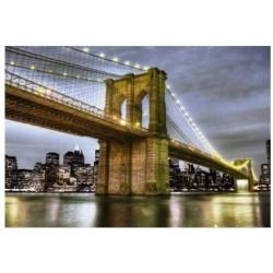Brooklyn Bridge, Manhattan,...