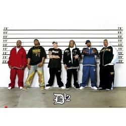 D12 line-up, MAXI 2 plakat...