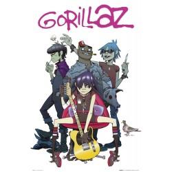 Gorillaz, MAXI plakat 61 x...