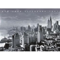 New York, Cityscape, 1931,...