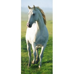 Den hvide hest - 86 x 200 cm