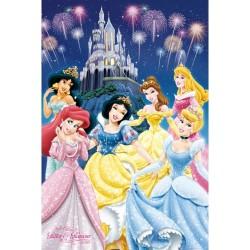 Disney prinsesser - Glitter...