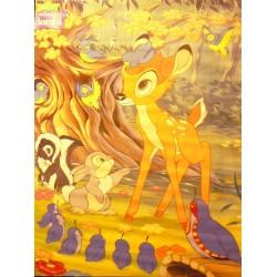 Bambi med skovens dyr