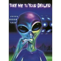 Smoking Alien (Rygende...