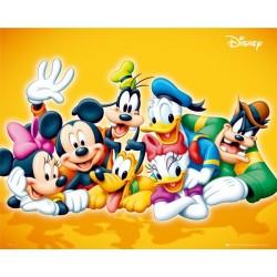Disney-figurer (Midi plakat)