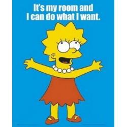 Lisa Simpson (Midi plakat)