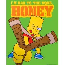 Bart Simpson - I'm bad to...