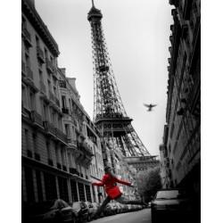 La veste rouge - Paris...