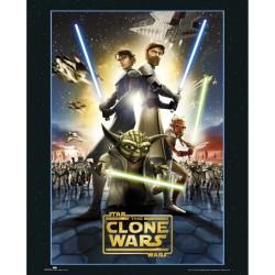 The Clone Wars (Midi plakat)