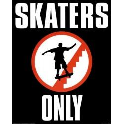Skaters Only (Midi plakat)