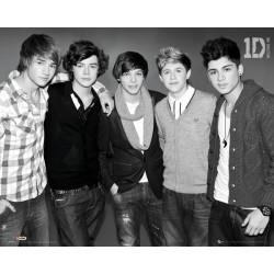 One Direction - sort/hvid...