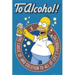 Homer Simpson - To Alcohol!