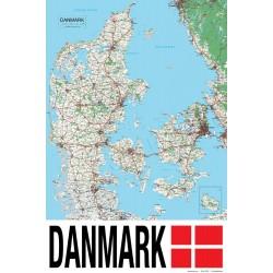 Danmarks-kort