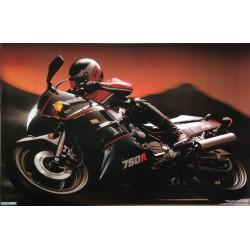 Kawasaki Ninja 750R motorcykel
