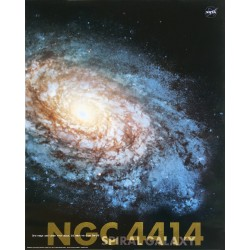 Galakse NGC4414 (Midi plakat)