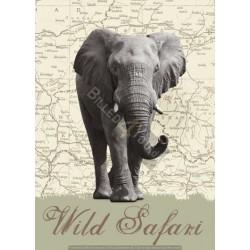 Wild Safari - 183 x 254 cm...