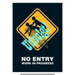 No entry - Work in progress