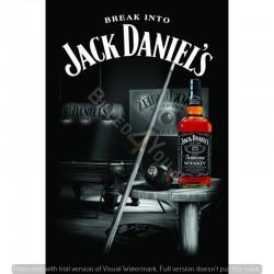 Break into Jack Daniel's,...